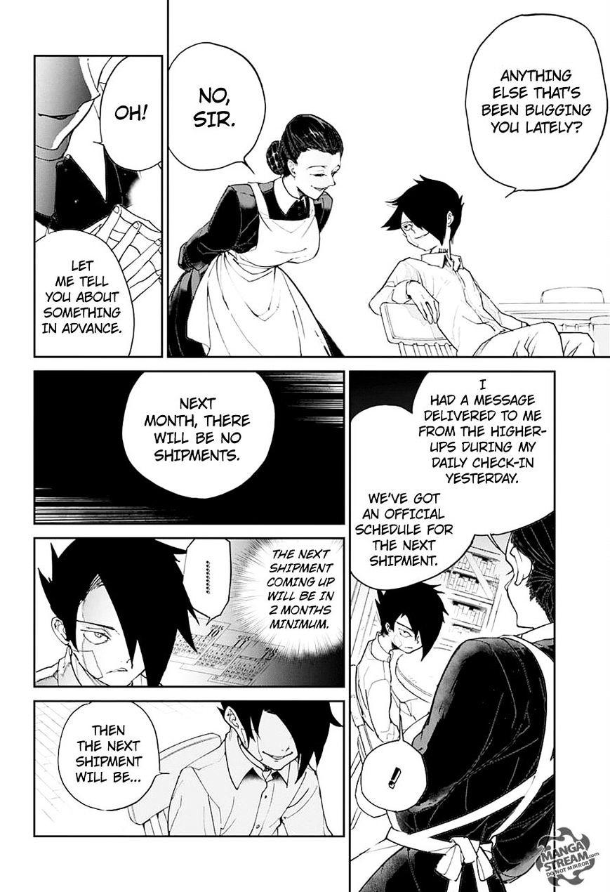 Yakusoku No Neverland Chapter 19  Online Free Manga Read Image 14