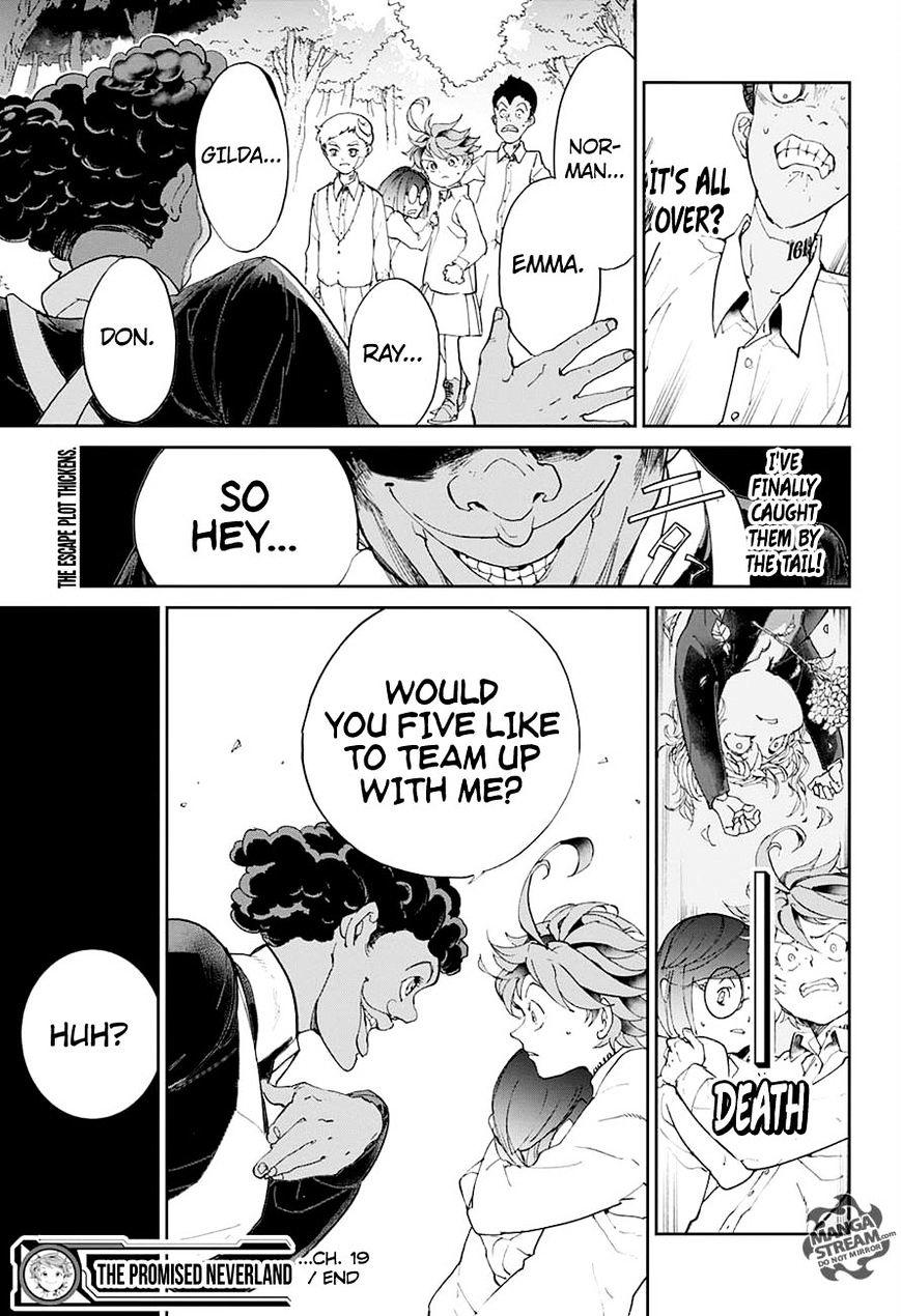 Yakusoku No Neverland Chapter 19  Online Free Manga Read Image 19