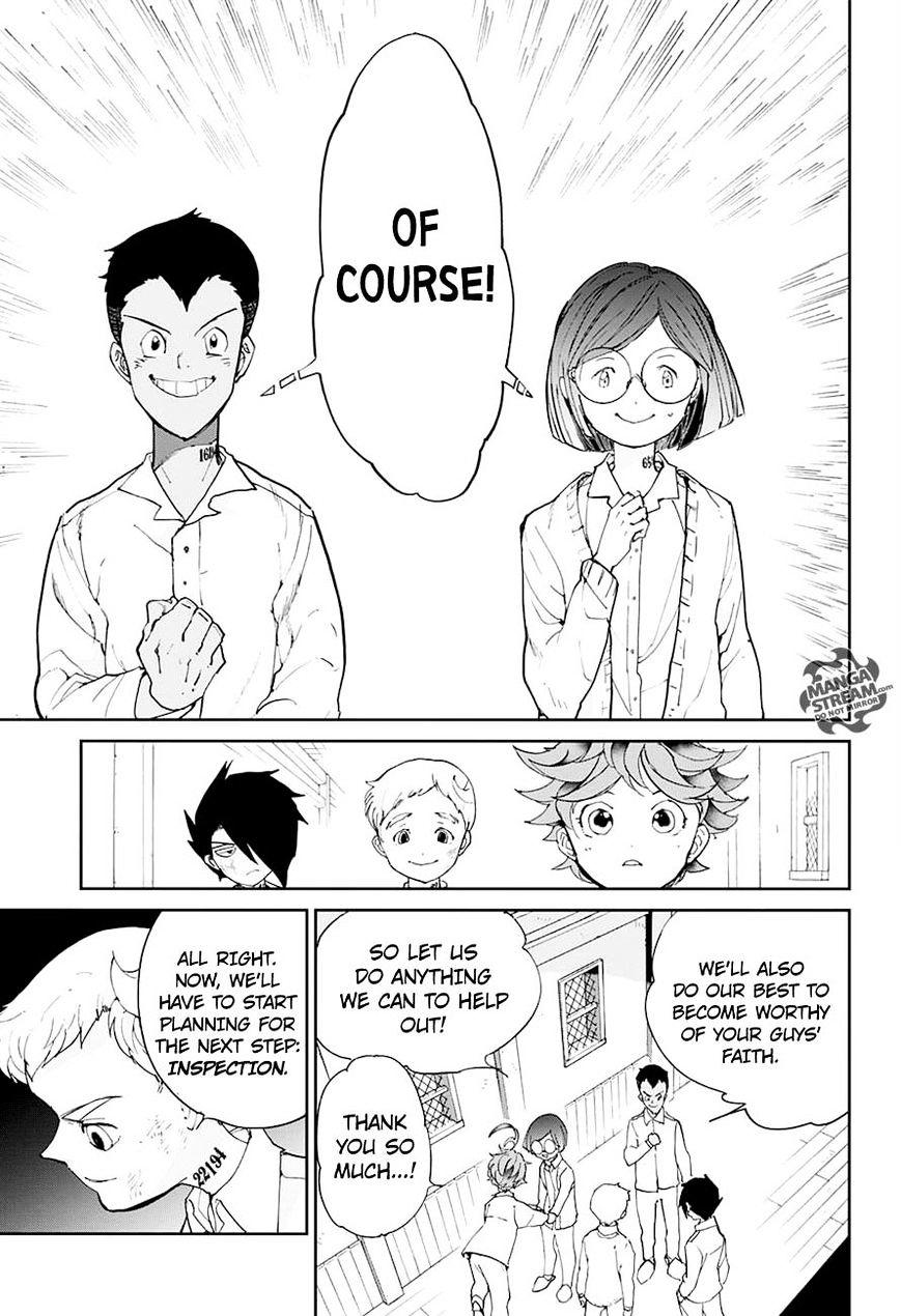 Yakusoku No Neverland Chapter 19  Online Free Manga Read Image 5