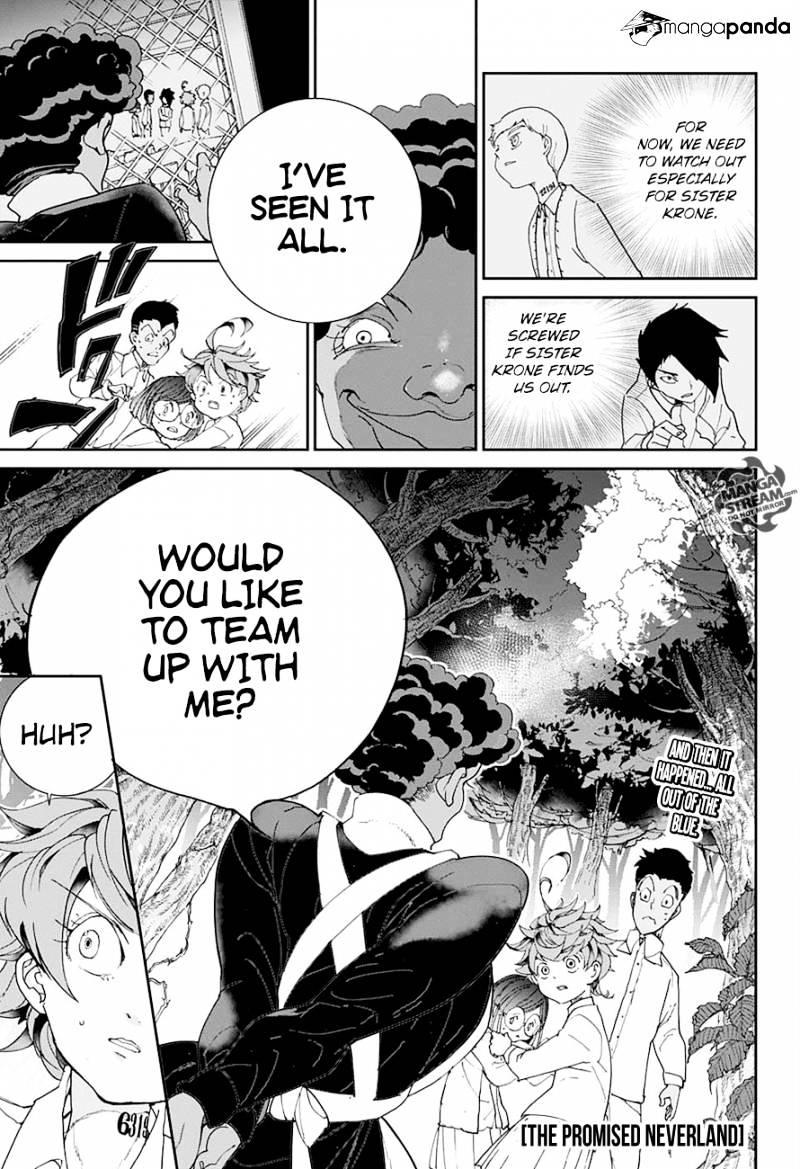 Yakusoku No Neverland Chapter 20  Online Free Manga Read Image 1