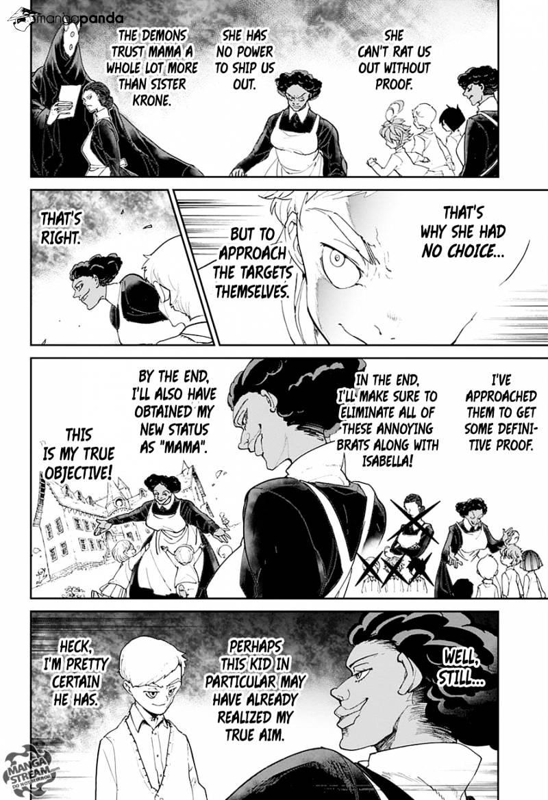 Yakusoku No Neverland Chapter 20  Online Free Manga Read Image 11