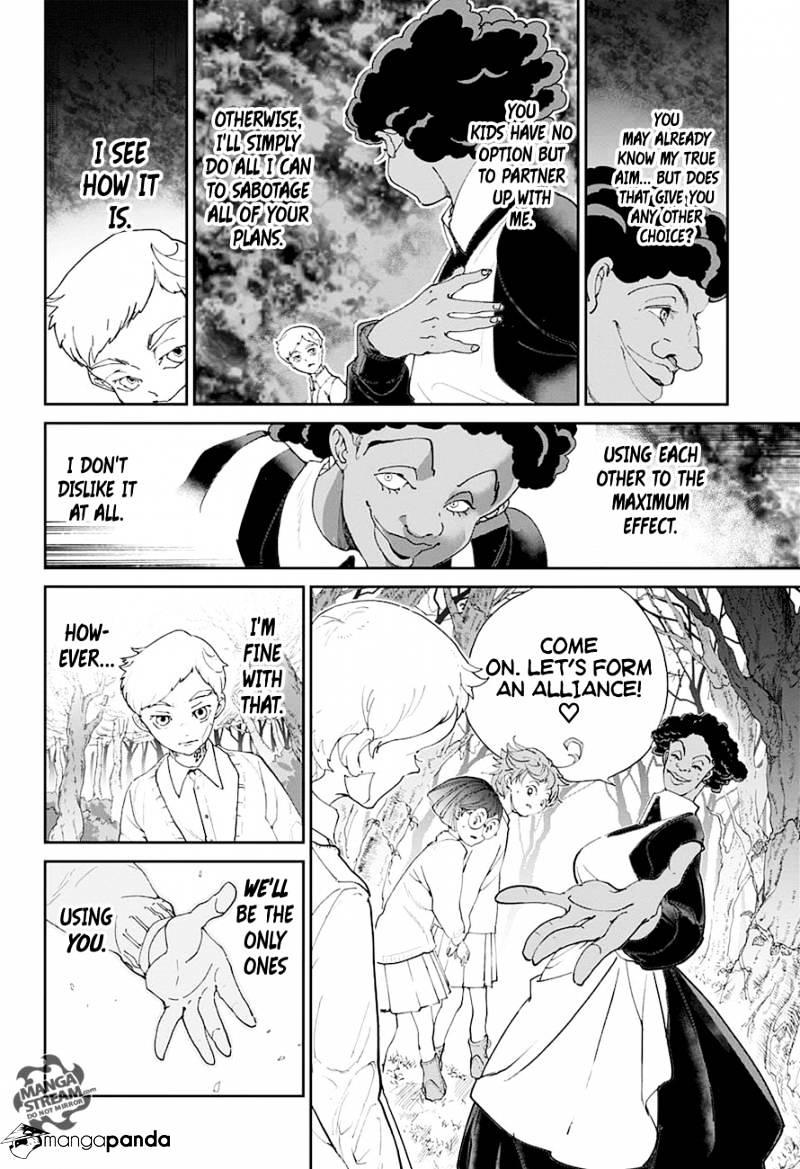 Yakusoku No Neverland Chapter 20  Online Free Manga Read Image 13