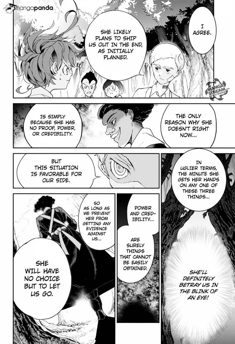 Yakusoku No Neverland Chapter 20  Online Free Manga Read Image 18