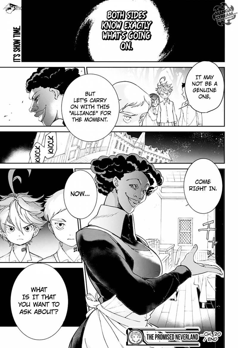Yakusoku No Neverland Chapter 20  Online Free Manga Read Image 19