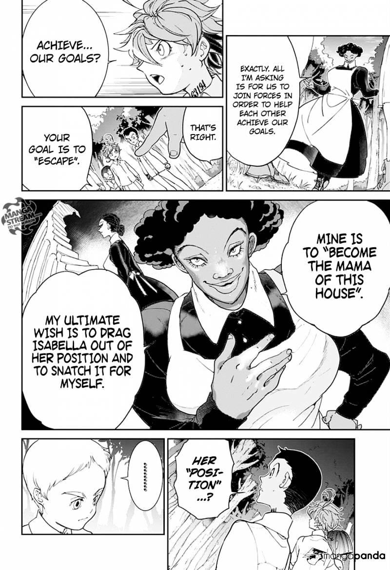 Yakusoku No Neverland Chapter 20  Online Free Manga Read Image 5
