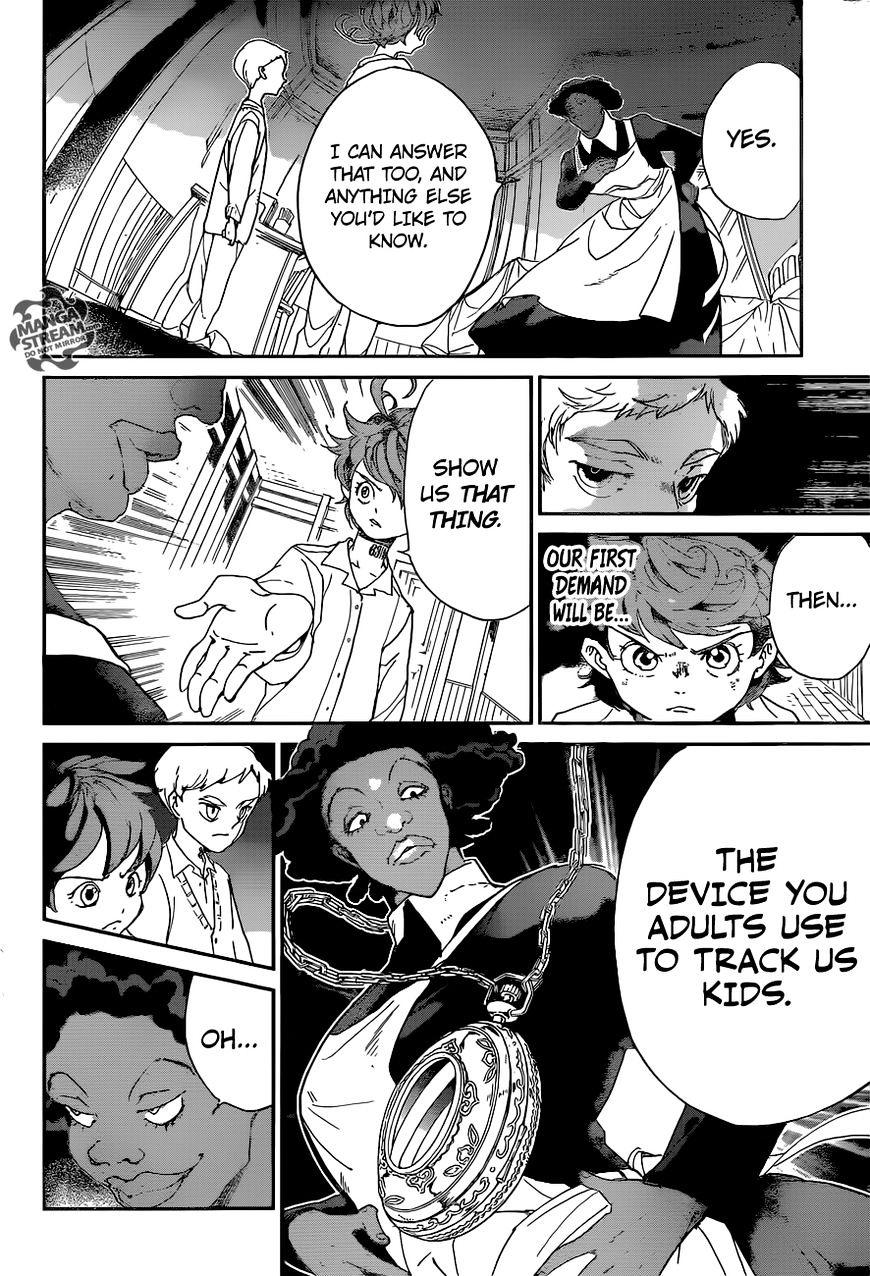 Yakusoku No Neverland Chapter 21  Online Free Manga Read Image 7