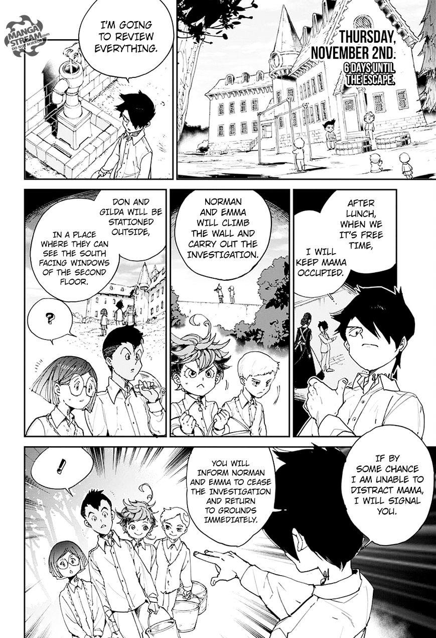Yakusoku No Neverland Chapter 22  Online Free Manga Read Image 3