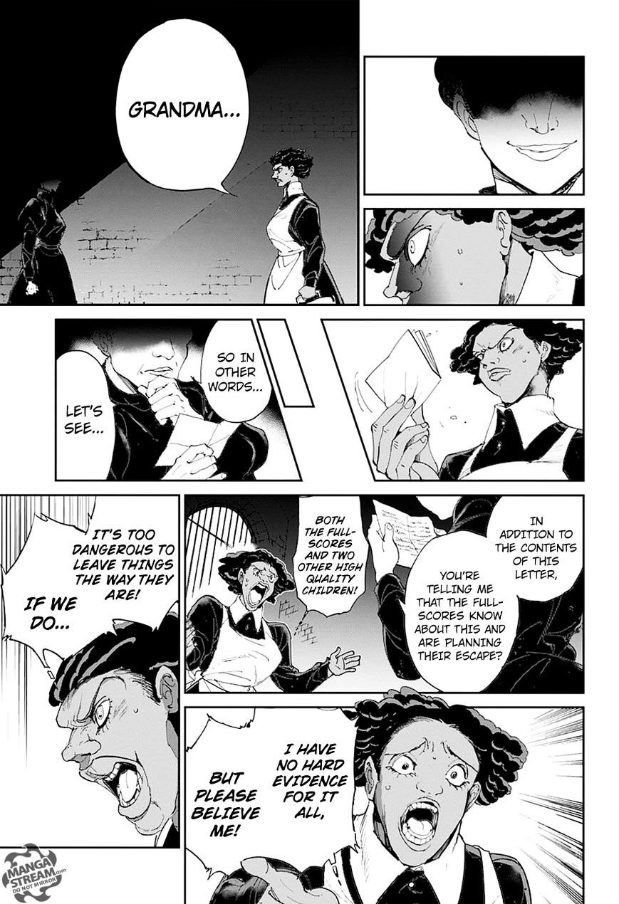 Yakusoku No Neverland Chapter 23  Online Free Manga Read Image 11