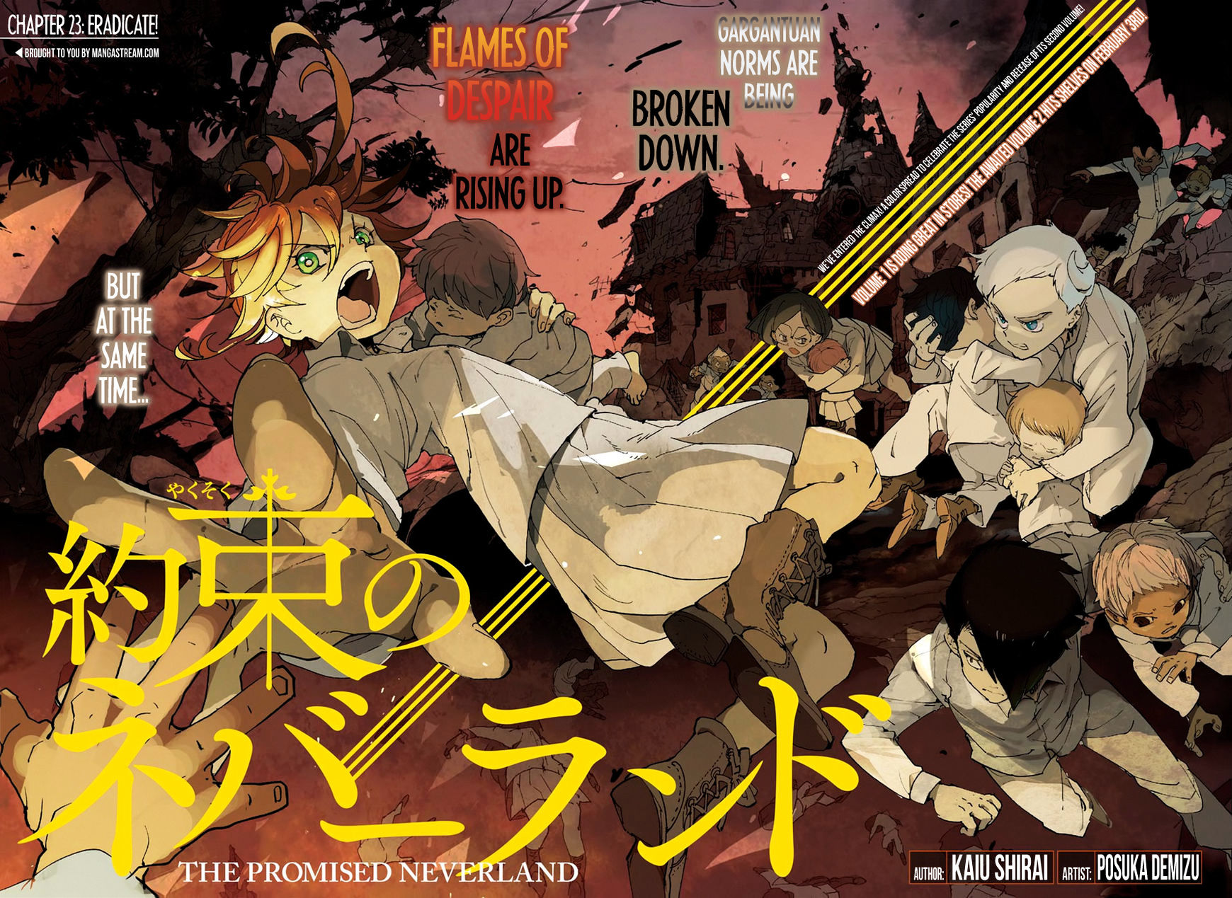 Yakusoku No Neverland Chapter 23  Online Free Manga Read Image 4