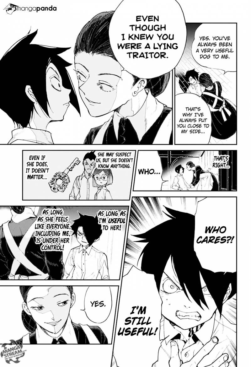 Yakusoku No Neverland Chapter 24  Online Free Manga Read Image 8
