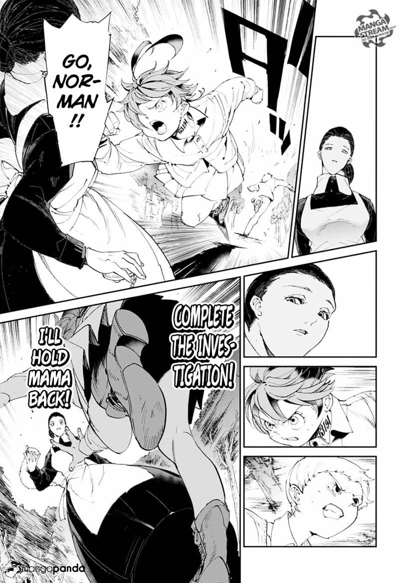 Yakusoku No Neverland Chapter 25  Online Free Manga Read Image 13