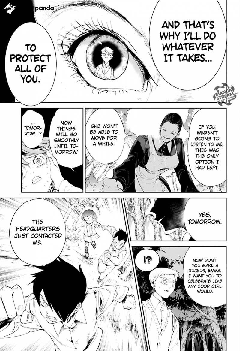 Yakusoku No Neverland Chapter 25  Online Free Manga Read Image 19