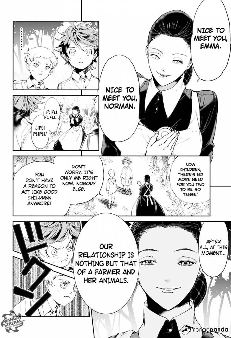 Yakusoku No Neverland Chapter 25  Online Free Manga Read Image 4