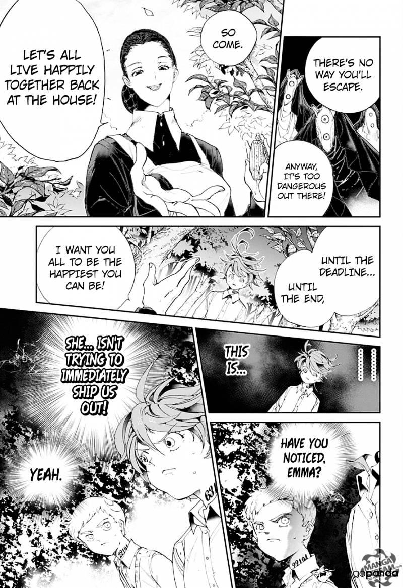 Yakusoku No Neverland Chapter 25  Online Free Manga Read Image 7