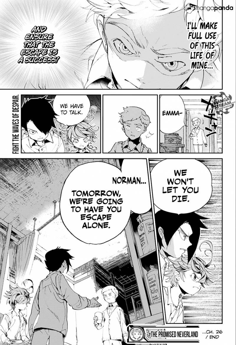 Yakusoku No Neverland Chapter 26  Online Free Manga Read Image 20