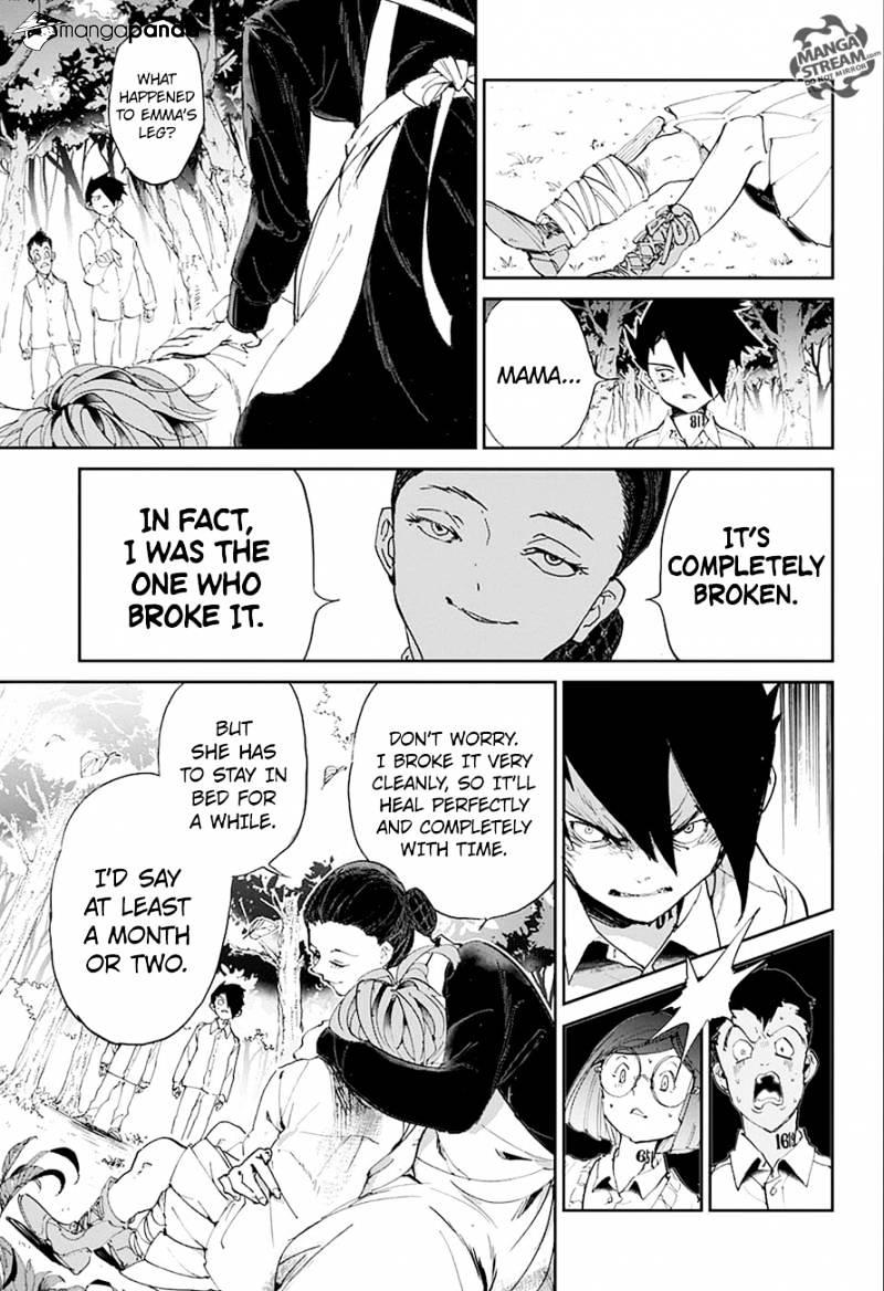Yakusoku No Neverland Chapter 26  Online Free Manga Read Image 4