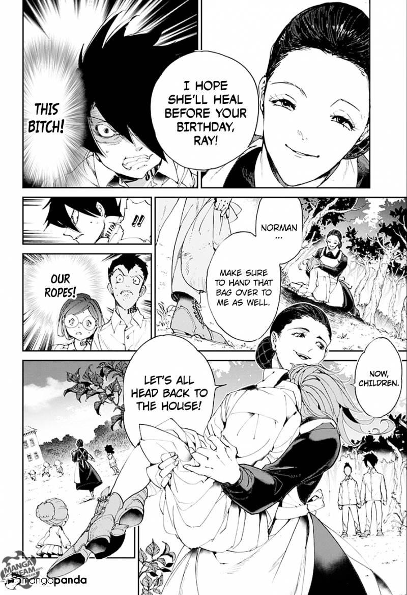 Yakusoku No Neverland Chapter 26  Online Free Manga Read Image 5