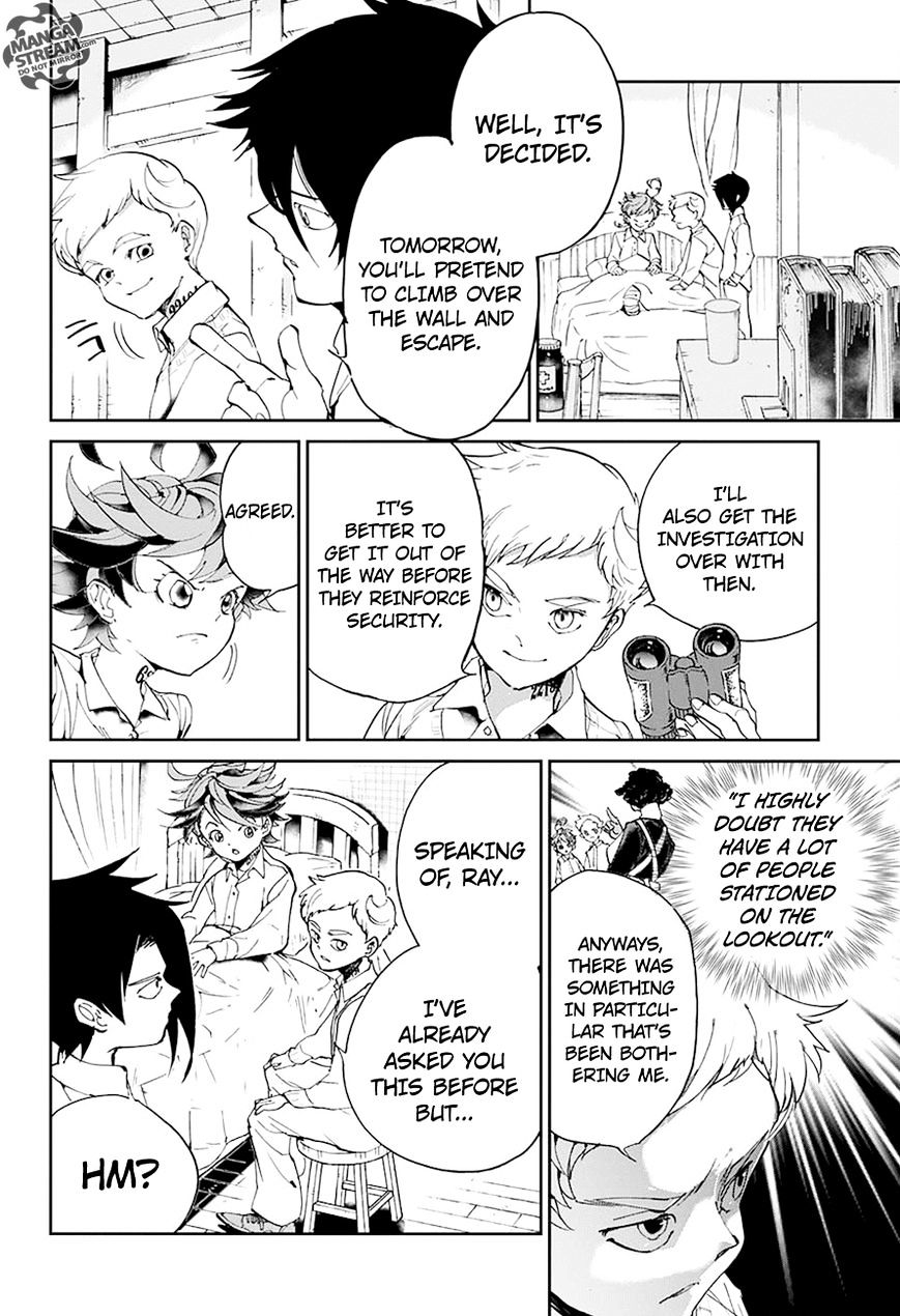 Yakusoku No Neverland Chapter 27  Online Free Manga Read Image 19