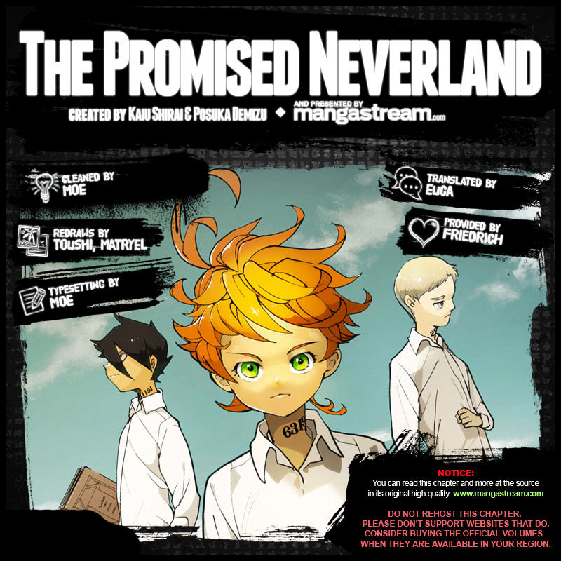 Yakusoku No Neverland Chapter 27  Online Free Manga Read Image 2