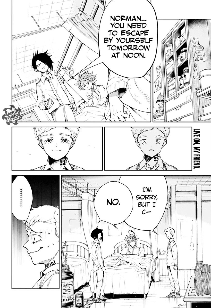Yakusoku No Neverland Chapter 27  Online Free Manga Read Image 3
