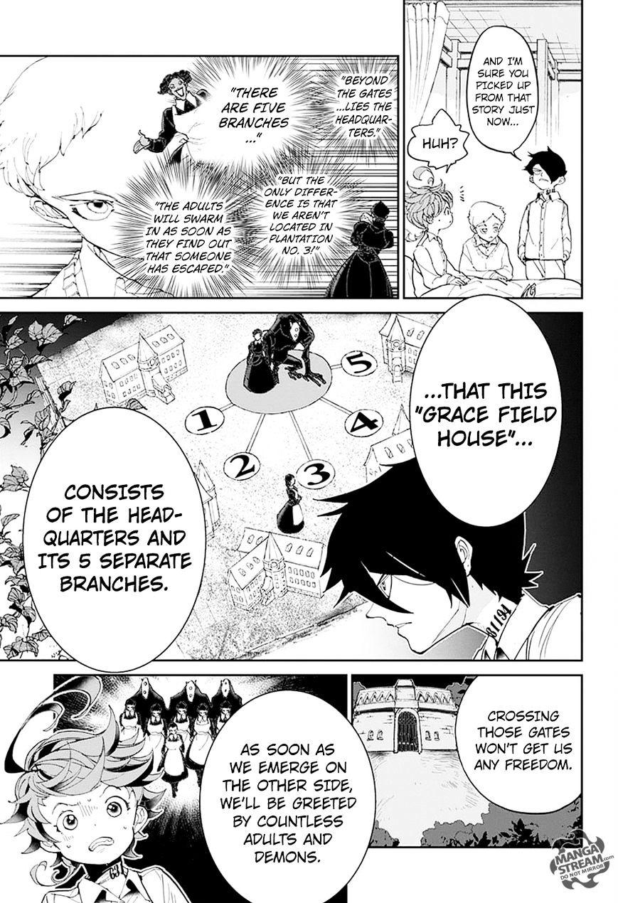 Yakusoku No Neverland Chapter 28  Online Free Manga Read Image 10