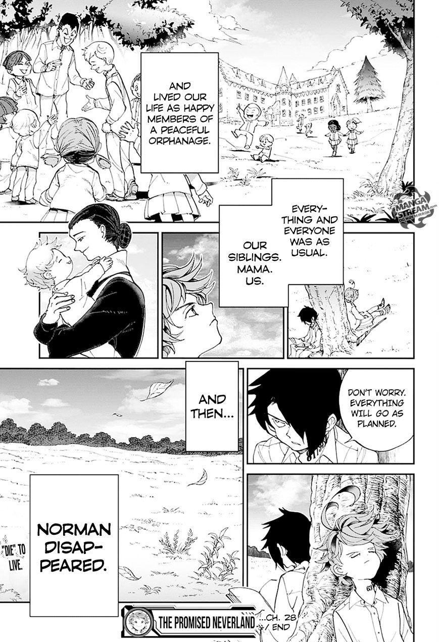 Yakusoku No Neverland Chapter 28  Online Free Manga Read Image 20