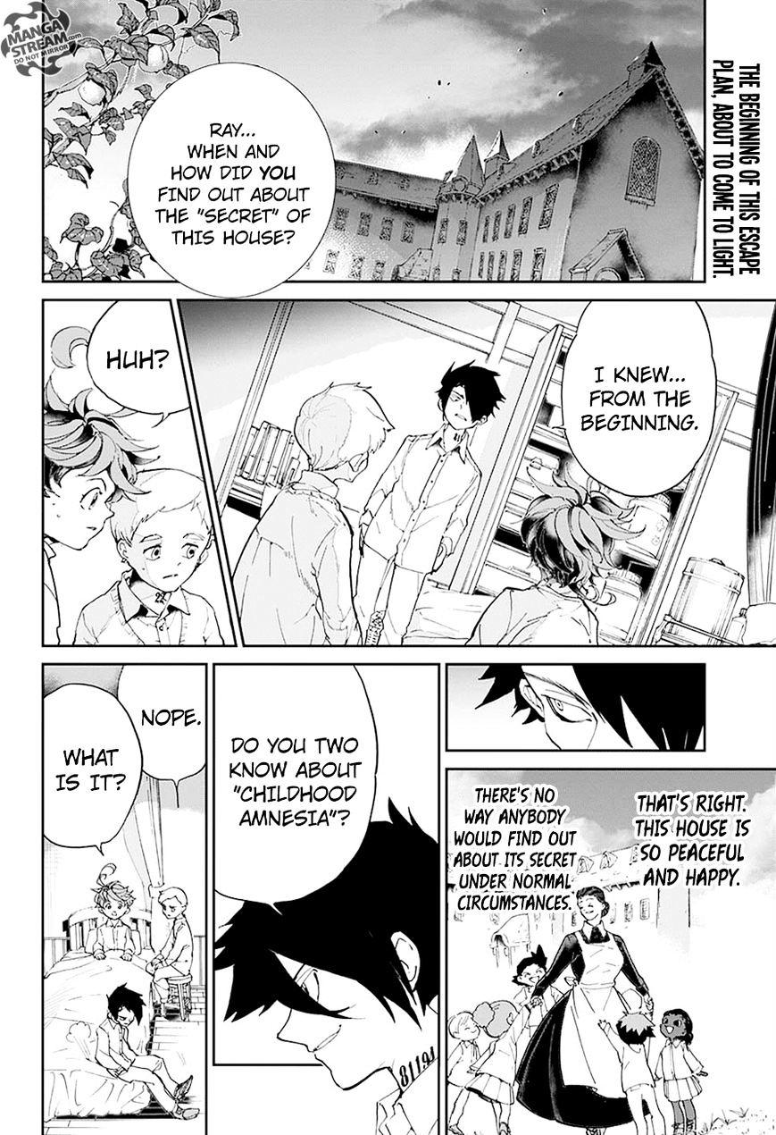 Yakusoku No Neverland Chapter 28  Online Free Manga Read Image 3