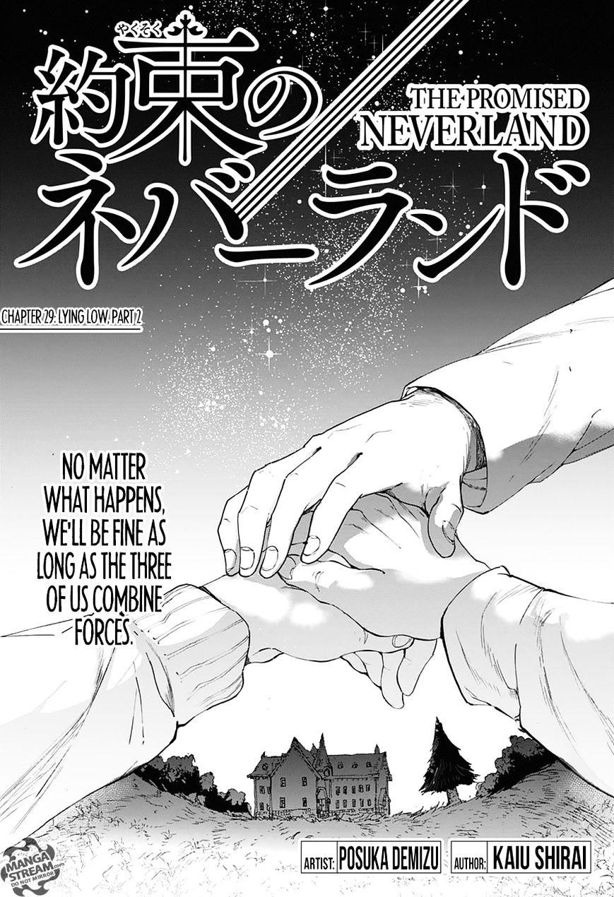 Yakusoku No Neverland Chapter 29  Online Free Manga Read Image 1