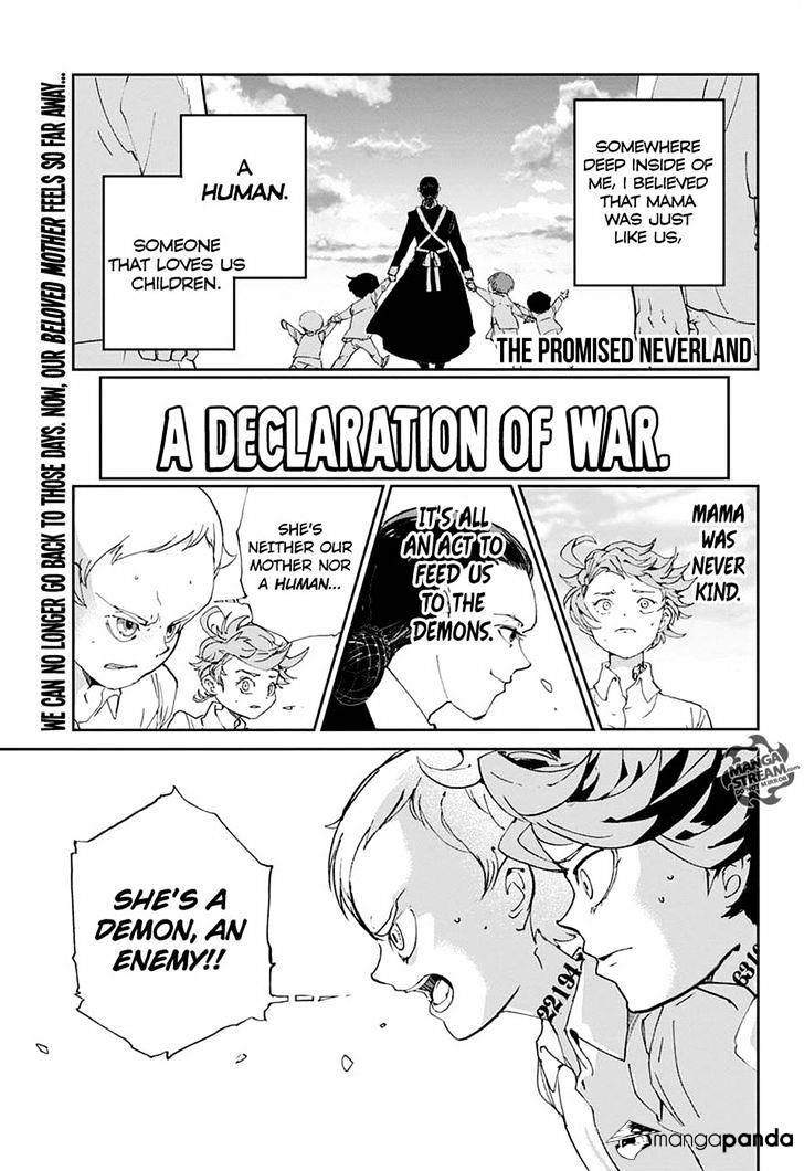 Yakusoku No Neverland Chapter 3  Online Free Manga Read Image 1