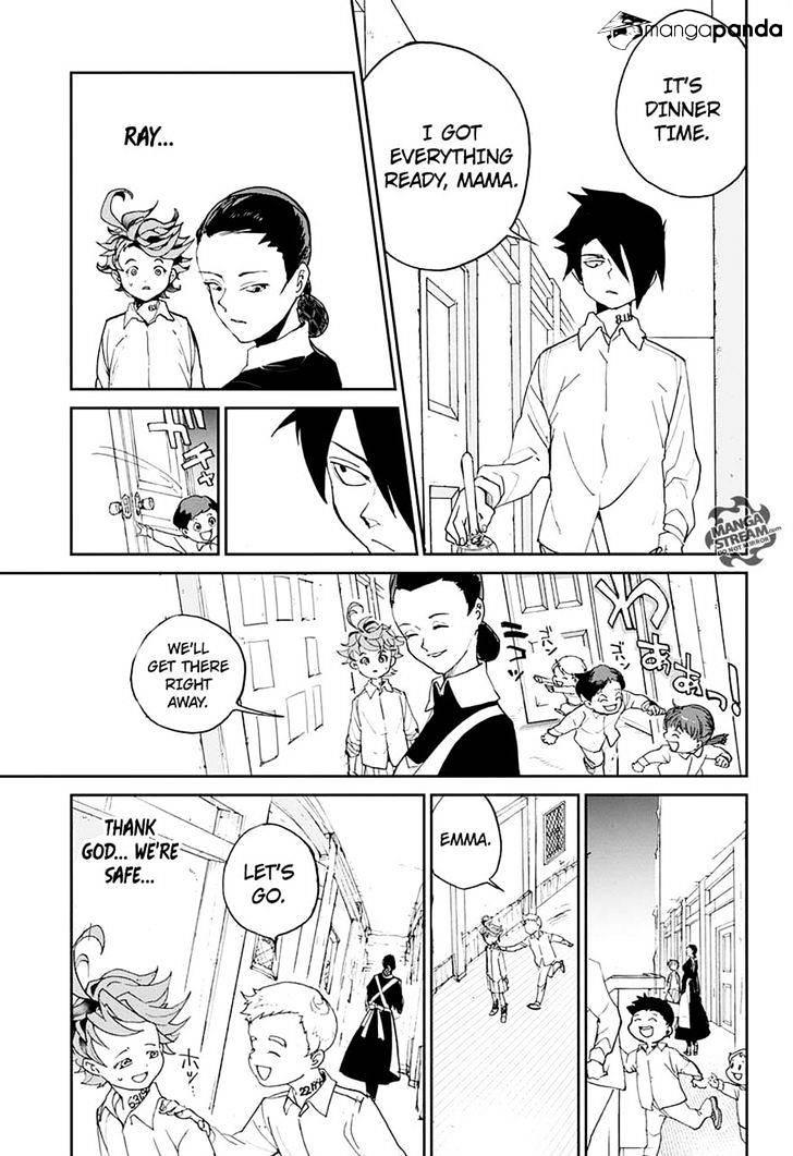 Yakusoku No Neverland Chapter 3  Online Free Manga Read Image 19