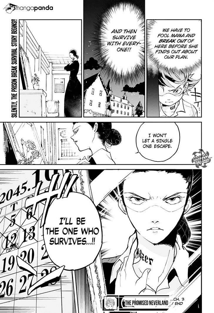 Yakusoku No Neverland Chapter 3  Online Free Manga Read Image 23