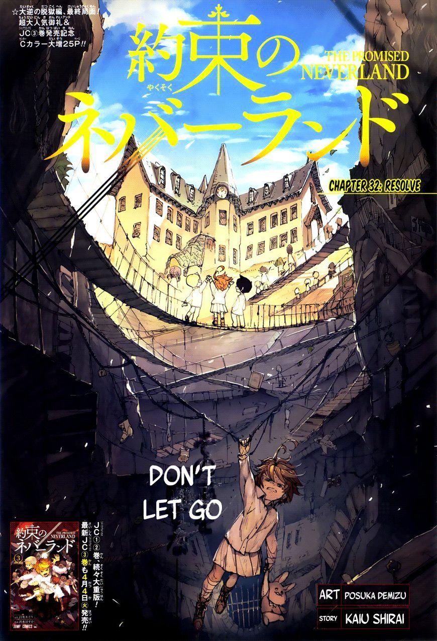 Yakusoku No Neverland Chapter 32  Online Free Manga Read Image 1