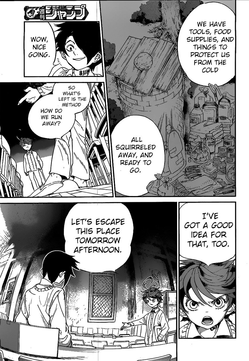 Yakusoku No Neverland Chapter 32  Online Free Manga Read Image 10