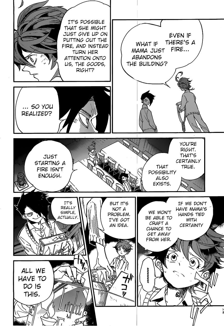 Yakusoku No Neverland Chapter 32  Online Free Manga Read Image 19