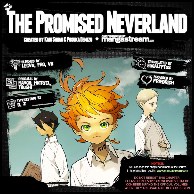 Yakusoku No Neverland Chapter 33  Online Free Manga Read Image 2