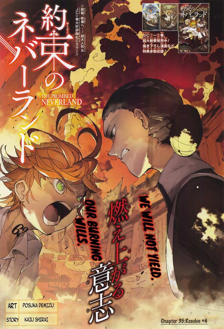 Yakusoku No Neverland Chapter 35  Online Free Manga Read Image 1