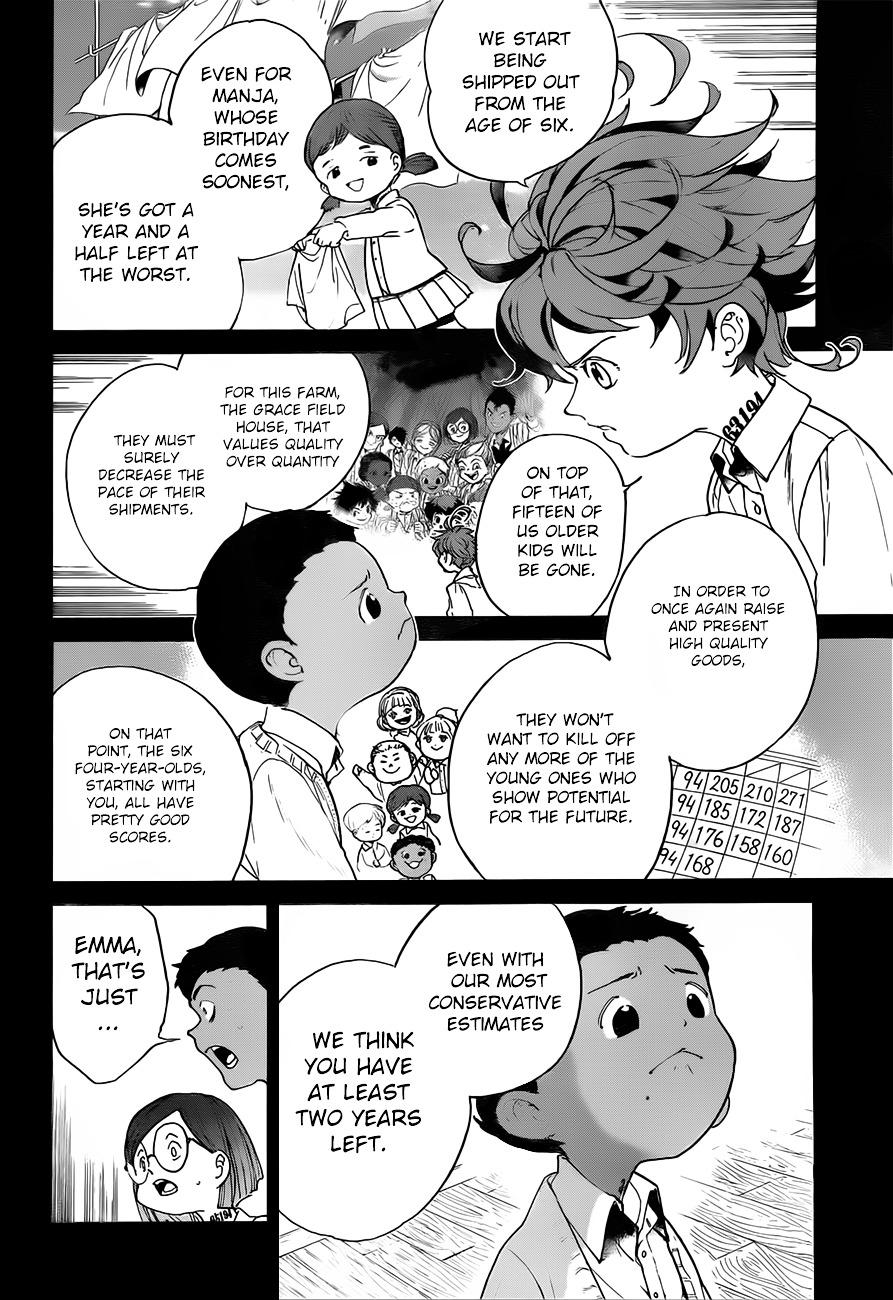 Yakusoku No Neverland Chapter 35  Online Free Manga Read Image 13