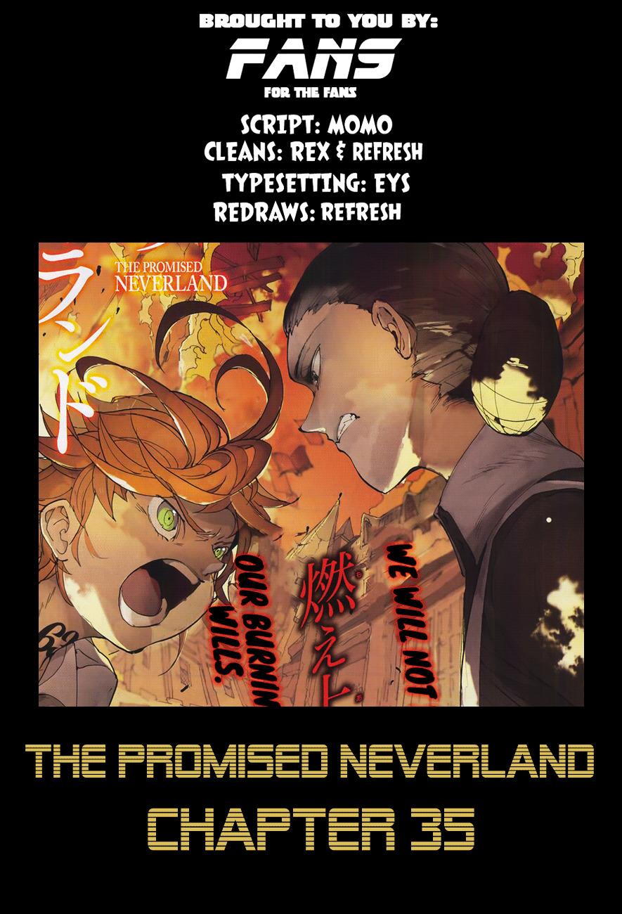 Yakusoku No Neverland Chapter 35  Online Free Manga Read Image 2