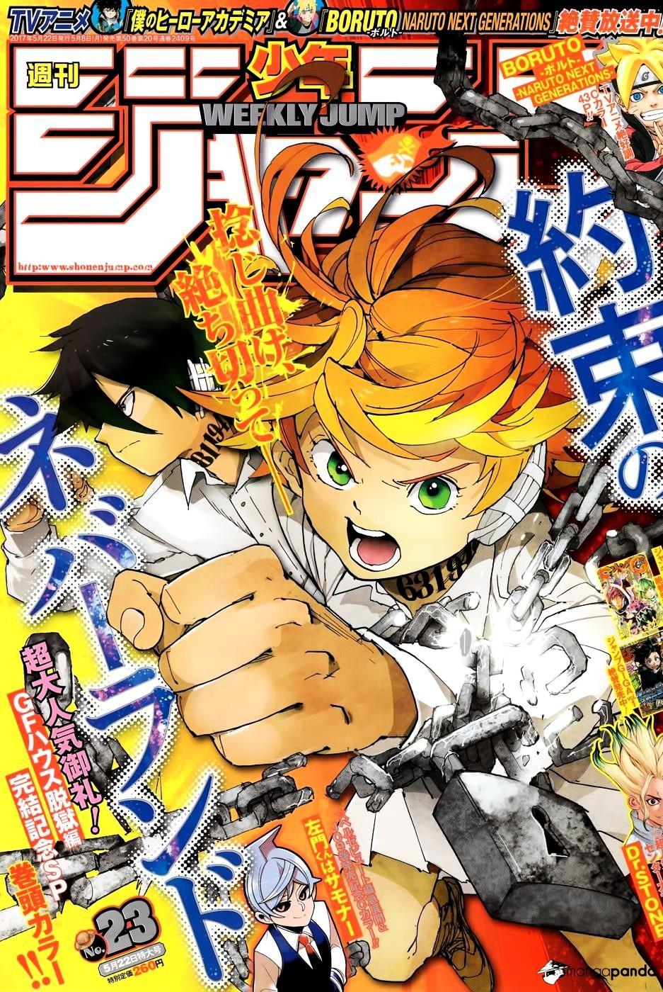 Yakusoku No Neverland Chapter 37  Online Free Manga Read Image 1