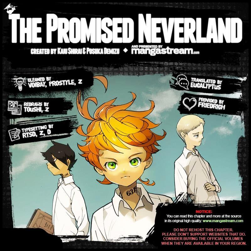 Yakusoku No Neverland Chapter 37  Online Free Manga Read Image 2