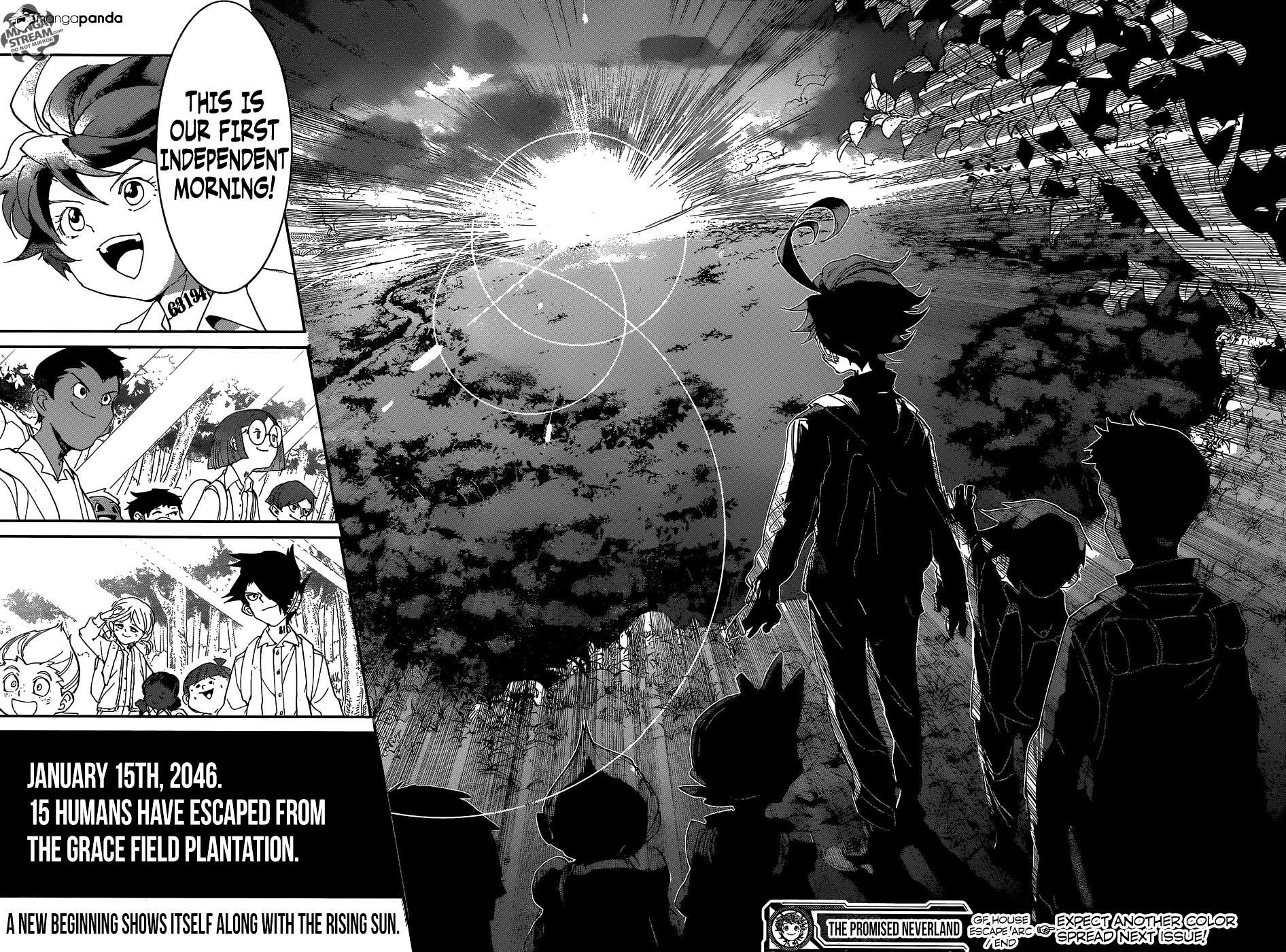 Yakusoku No Neverland Chapter 37  Online Free Manga Read Image 22