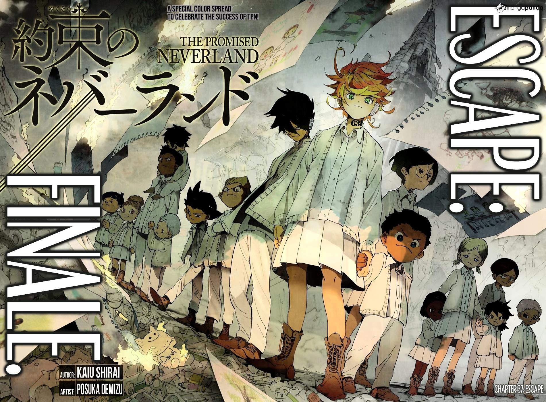 Yakusoku No Neverland Chapter 37  Online Free Manga Read Image 4