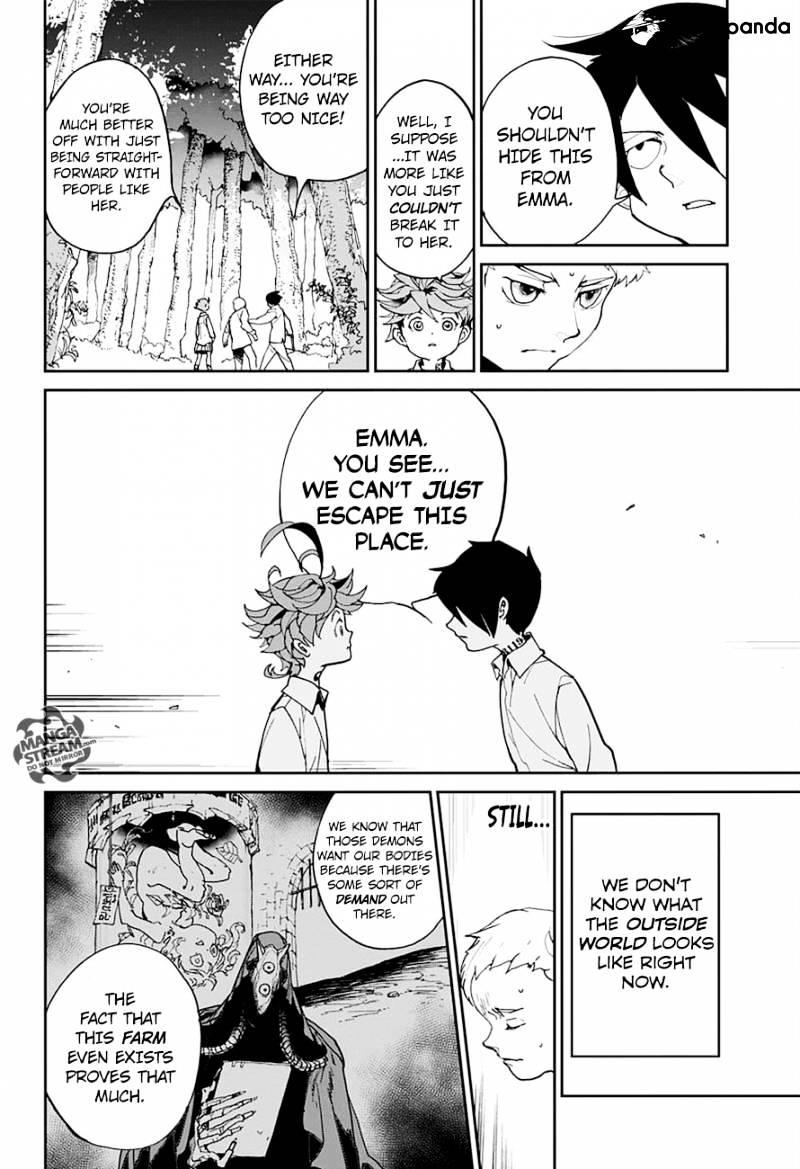 Yakusoku No Neverland Chapter 4  Online Free Manga Read Image 10