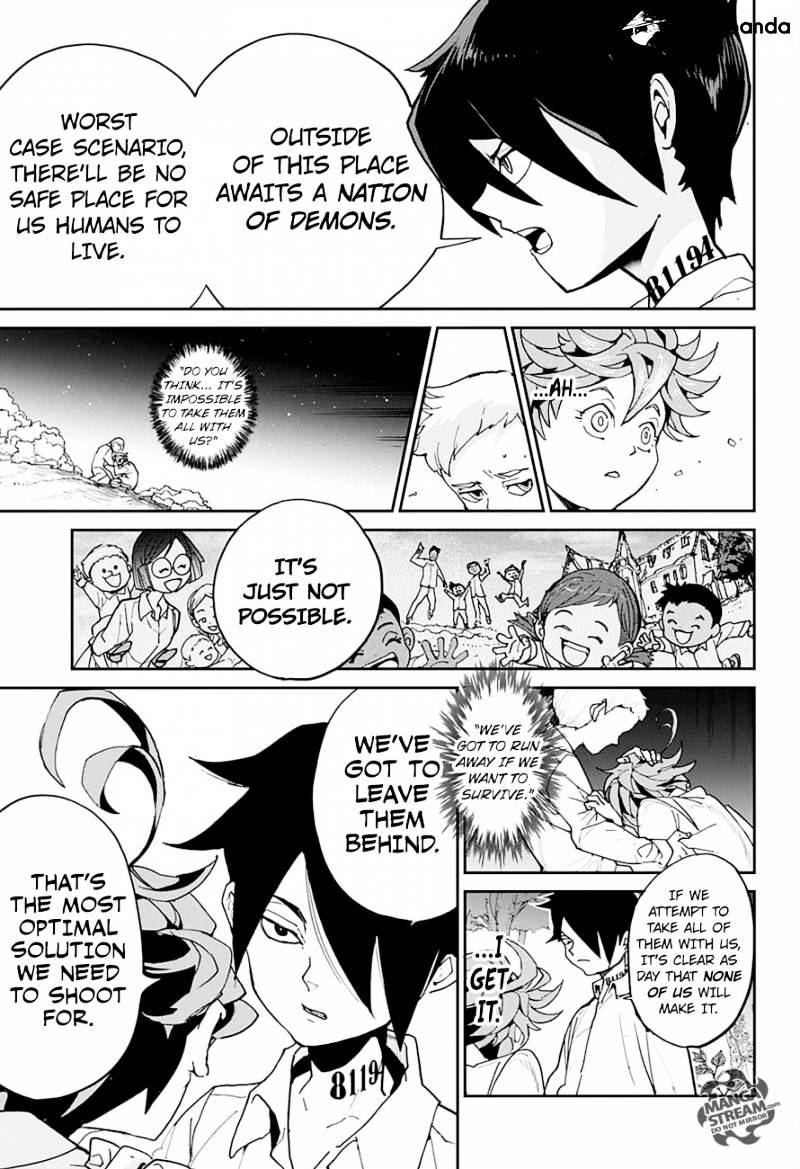 Yakusoku No Neverland Chapter 4  Online Free Manga Read Image 11