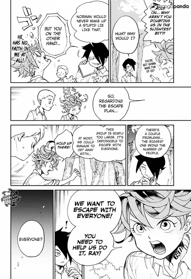 Yakusoku No Neverland Chapter 4  Online Free Manga Read Image 8