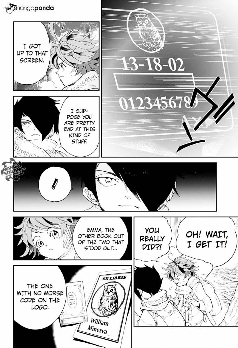 Yakusoku No Neverland Chapter 41  Online Free Manga Read Image 14