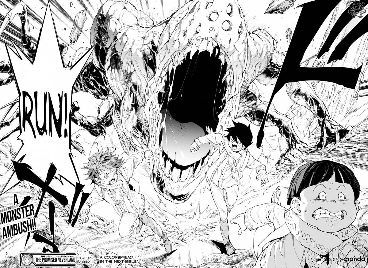 Yakusoku No Neverland Chapter 41  Online Free Manga Read Image 18