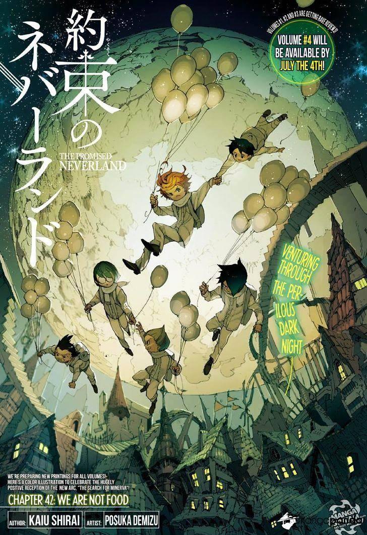 Yakusoku No Neverland Chapter 42  Online Free Manga Read Image 1