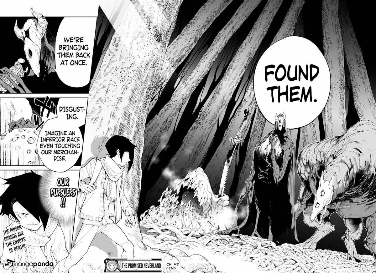 Yakusoku No Neverland Chapter 42  Online Free Manga Read Image 19