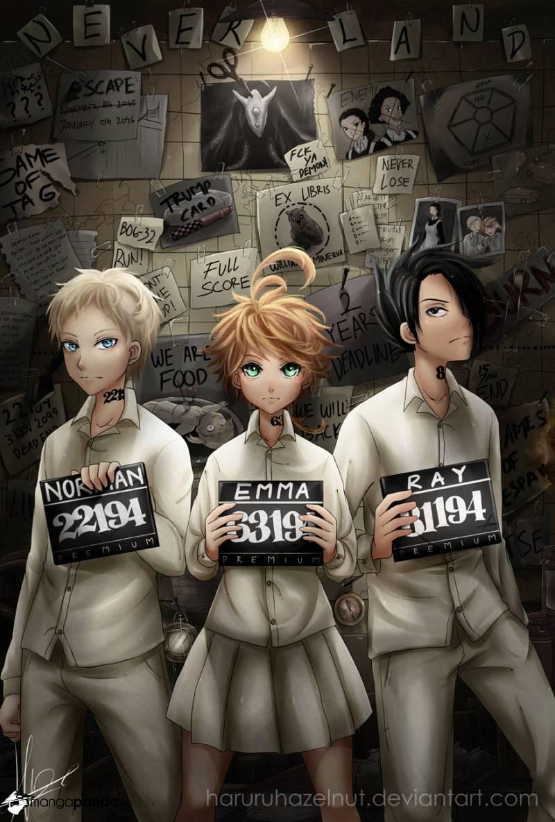 Yakusoku No Neverland Chapter 45  Online Free Manga Read Image 2